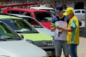 Estacionamento Zona Azul arrecada R$ 150 mil em 40 dias